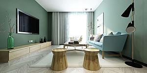 家具飾品組合客廳模型3d模型