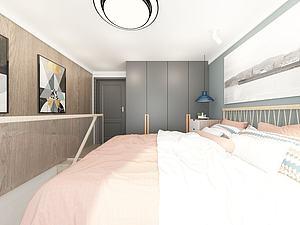 家具饰品组合卧室模型3d模型