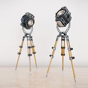 探照灯3d模型