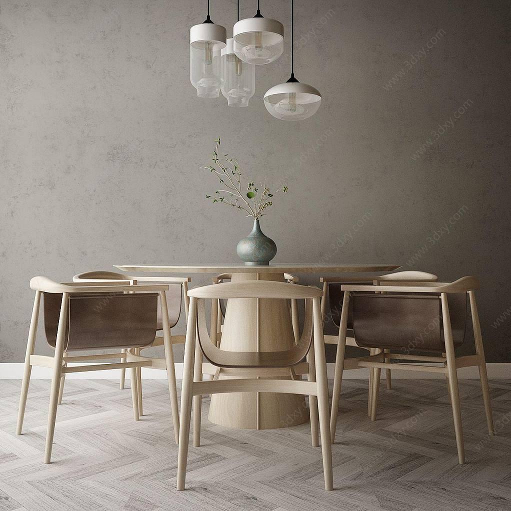 家具饰品组合餐厅