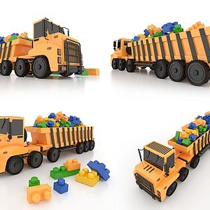 LEGO乐高积木玩具3d模型