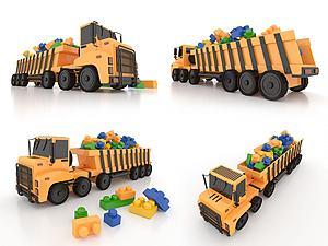 LEGO樂高積木玩具模型3d模型