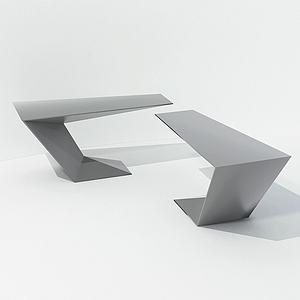 現代設計型簡約桌模型3d模型