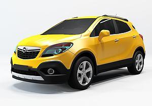 越野車模型3d模型