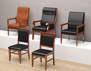 辦公椅模型3d模型