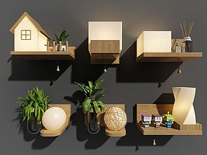 壁燈模型3d模型