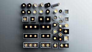 筒燈模型3d模型