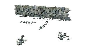 村莊石墻模型3d模型