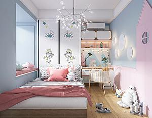 儿童房模型3d模型