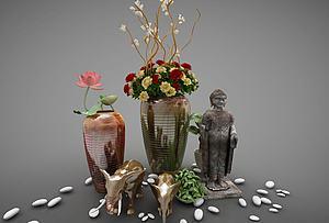 装饰花瓶模型3d模型