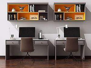 书桌椅模型3d模型