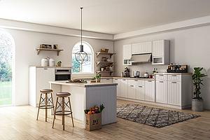 简欧厨房模型3d模型