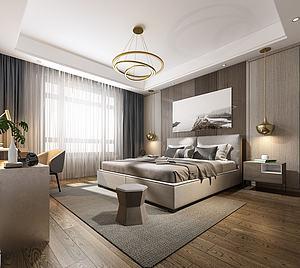 卧室模型3d模型