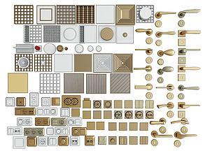 五金件模型3d模型