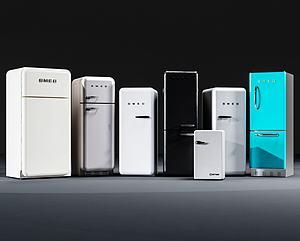 迷你小冰箱模型3d模型