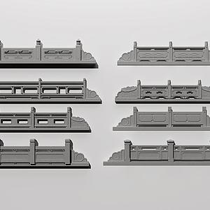 栏杆3d模型