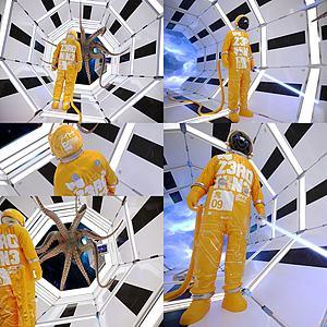 太空舱宇航员3d模型