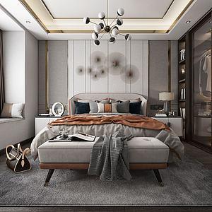 臥室3d模型