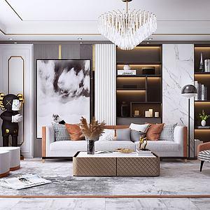 設計客廳模型