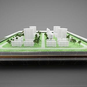 現代風格沙盤模型