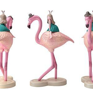 火煉鳥模型