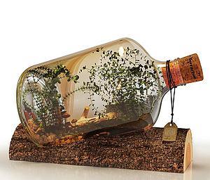 花瓶植物模型3d模型