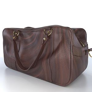 皮包3d模型