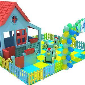 兒童大型玩具模型