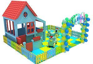 兒童大型玩具模型3d模型