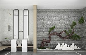 石槽模型3d模型