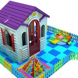 兒童玩具房子模型