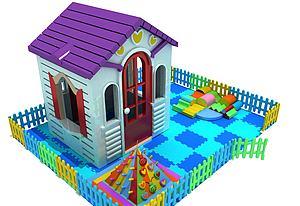 兒童玩具房子模型3d模型