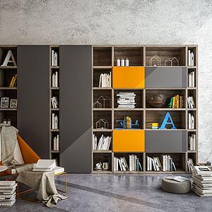 書柜3d模型