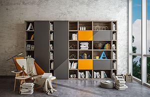 書柜模型3d模型