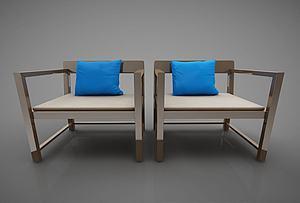 現代風格椅子模型3d模型