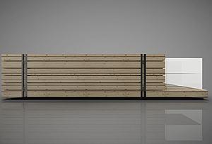 現代風格前臺模型3d模型