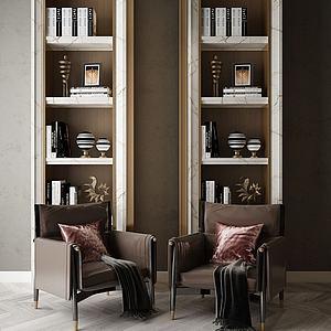 家具裝飾架模型3d模型