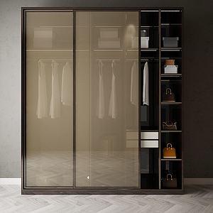 家具飾品衣柜組合模型