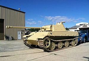 黑豹坦克模型3d模型