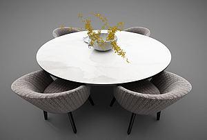 餐桌模型3d模型