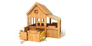 木質玩具模型3d模型