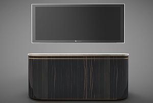 家具電視柜模型3d模型