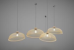 餐廳吊燈模型3d模型