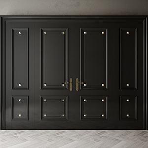 家具飾品組合柜子模型3d模型