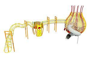 拓展設施模型3d模型