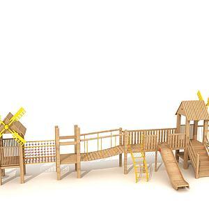 木質玩具3d模型
