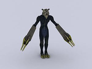 最終幻想角色模型3d模型