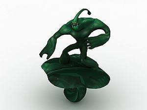 英雄聯盟扎克模型3d模型