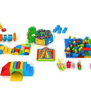 建構玩具3d模型