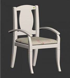 書椅模型3d模型